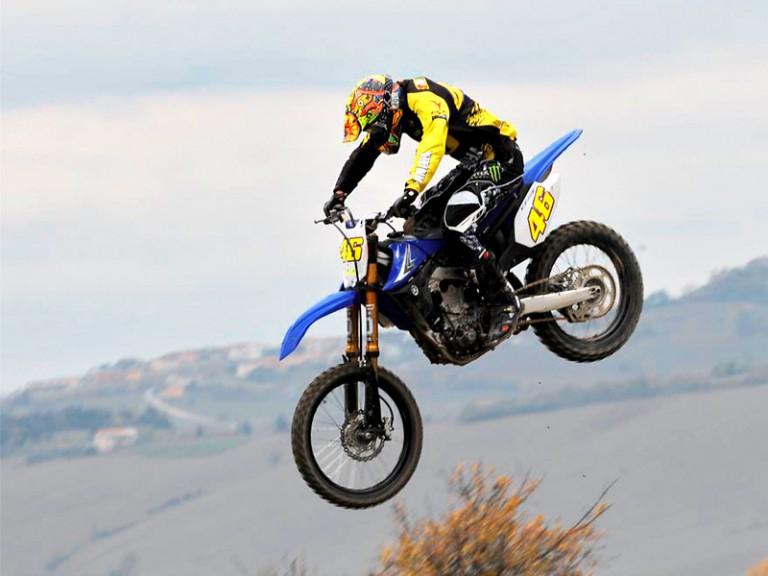 Valentino Rossi at Motocross dei Campioni