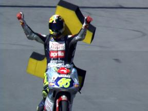 The start of something special: Rossi's first world title