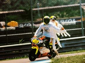 1999 250cc World Champion Valentino Rossi