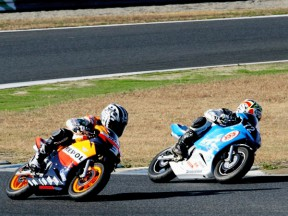 HRC Bosses Race mini-bikes at Motegi