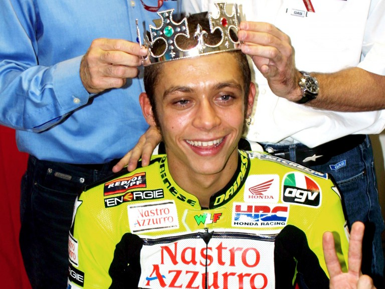 2001 500cc World Champion Valentino Rossi