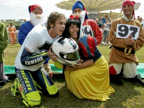 2005 MotoGP World Champion Valentino Rossi