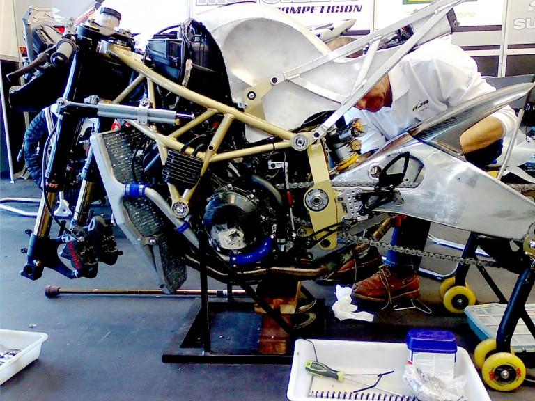 AJR-Motorrad Moto2 bike