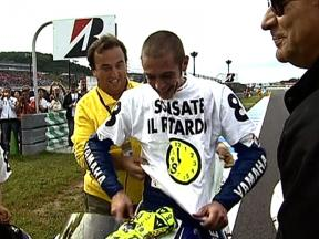 Rossi bounces back after two seasons without titles: Japan 2008