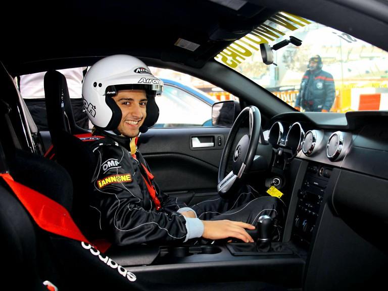 Andrea Iannone at Bologna Motorshow