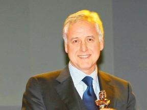 Giampiero Sacchi at Caschi d´Oro awards