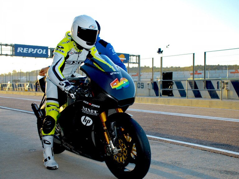 Sergio Gadea makes Moto2 debut with Pons Kalex at Valencia