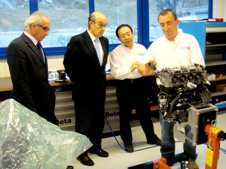 Vito Ippolito, Carmelo Ezpeleta visit Osamu Goto's Geo Technology