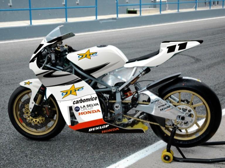 Gpe Moto2 bike