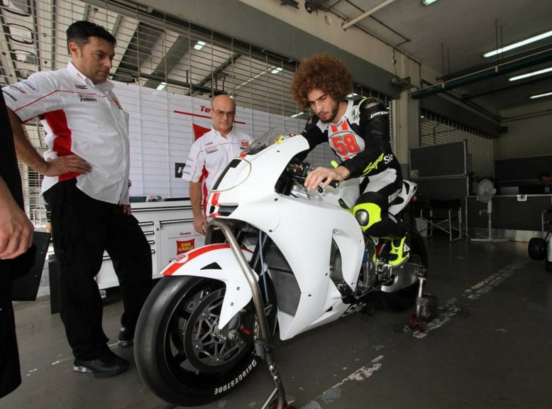 First test of Simoncelli in Sepang