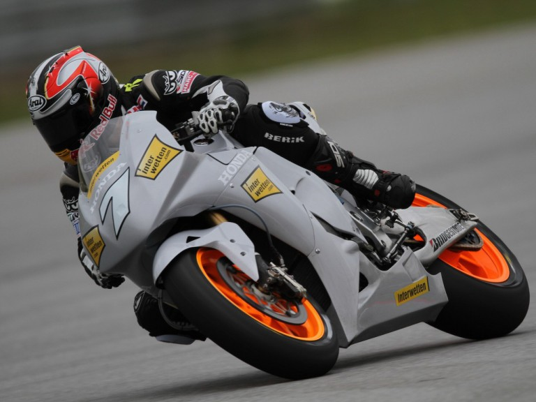 Last day of Aoyama in Sepang