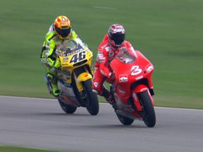 Head to head - Rossi vs Biaggi