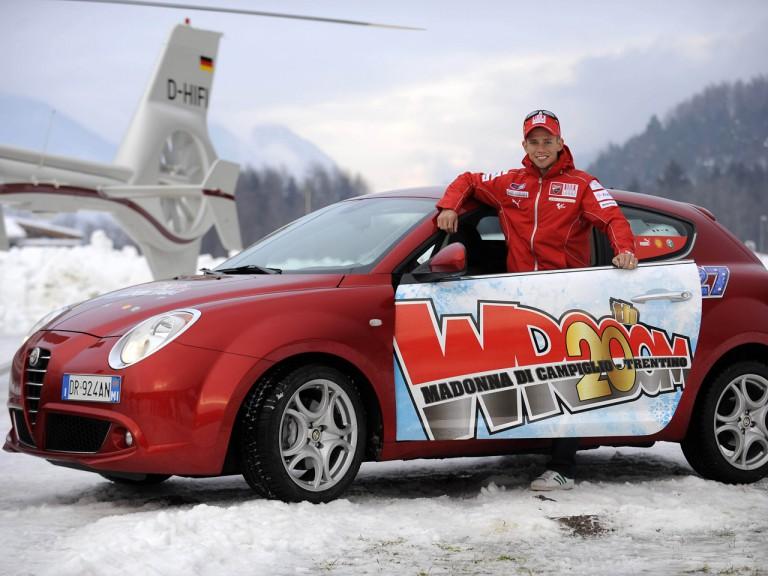Wrooom 2010 - Casey Stoner in Madonna di Campiglio
