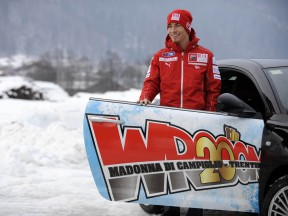 Wrooom 2010 - Nicky Hayden in Madonna di Campiglio