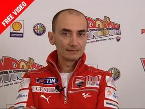 Claudio Domenicali discusses Ducati 2010 effort