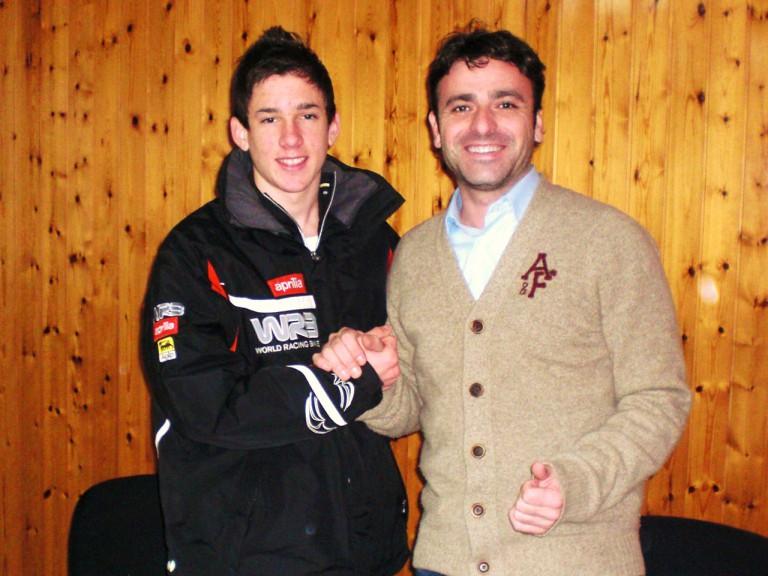 Adrian Martin and Javier Sabio, WRB Team Manager