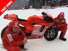Ducati Marlboro unveils the new Demosedici GP10