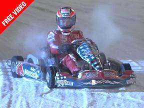 Ducati Marlboro riders challenge Ferrari F1 stars on ice