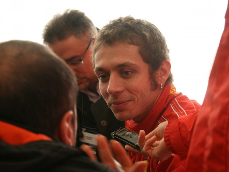 Valentino Rossi reflects on his run with the F2008 Ferrari