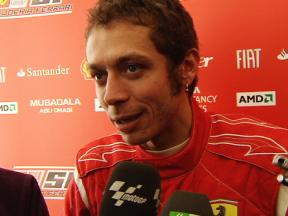 Rossi reviews F1 test (ENG)
