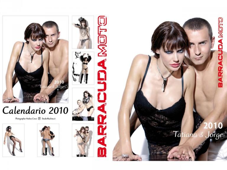 Barracuda Moto 2010 Calendar, featuring Jorge Lorenzo