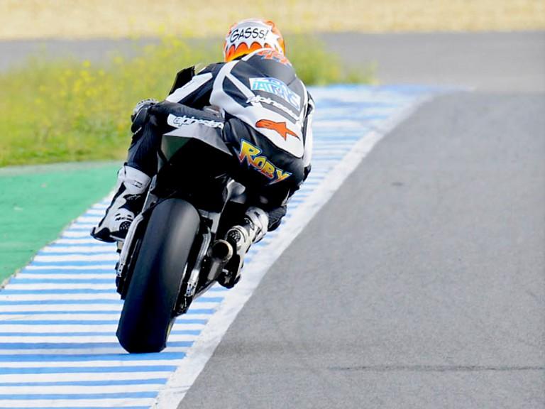 Roberto Rolfo at test in Jerez