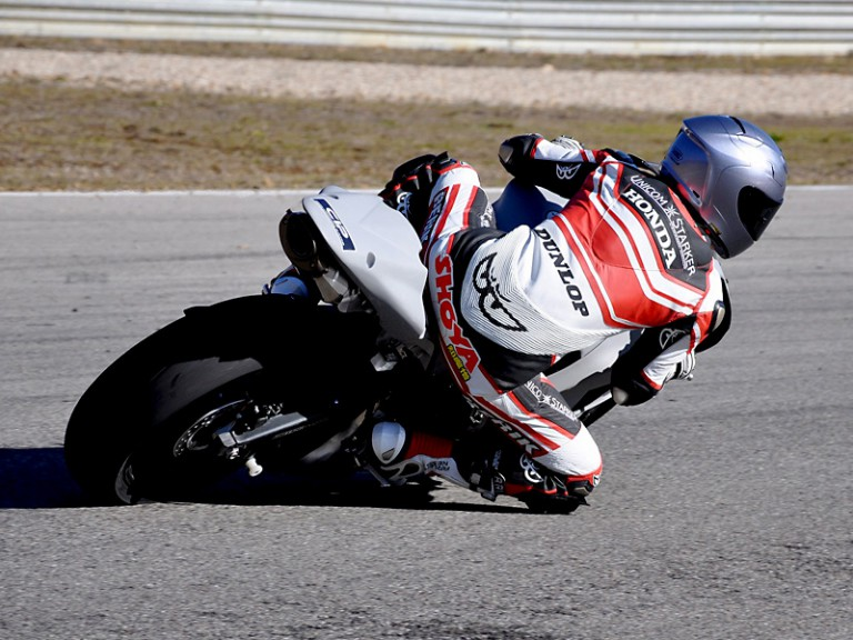 Shoya Tomizawa at Technomag CIP Moto2 test