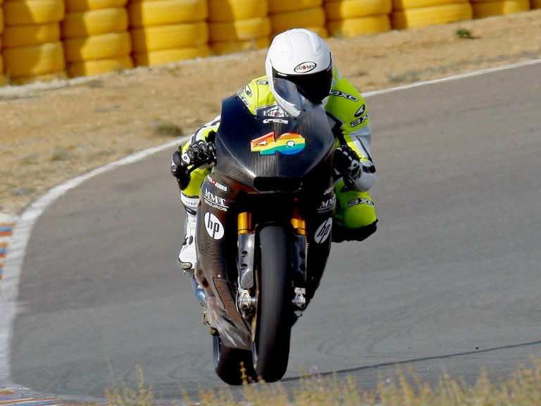 Sergio Gadea at Pons Racing test in Valencia