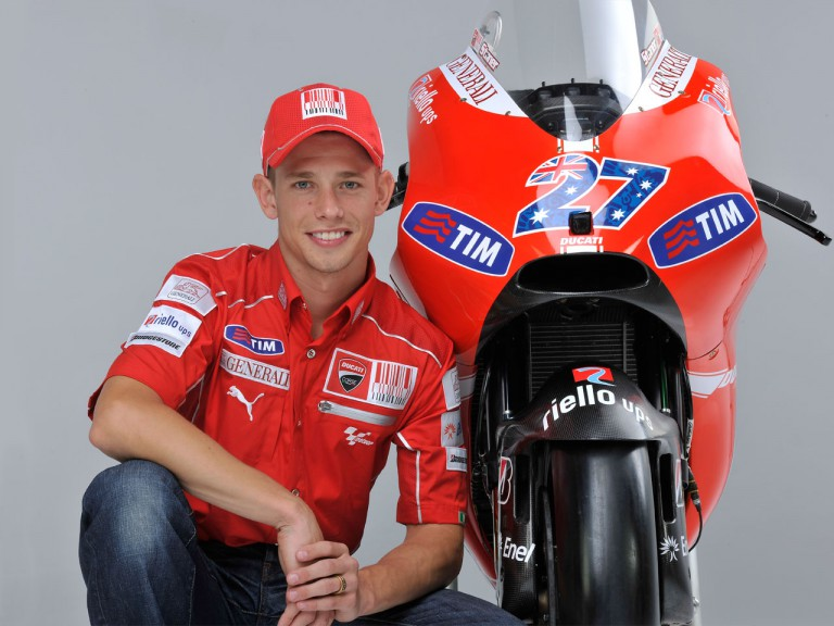 Tim and Ducati together until 2012