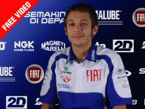 Q&A with Fiat Yamaha's Valentino Rossi