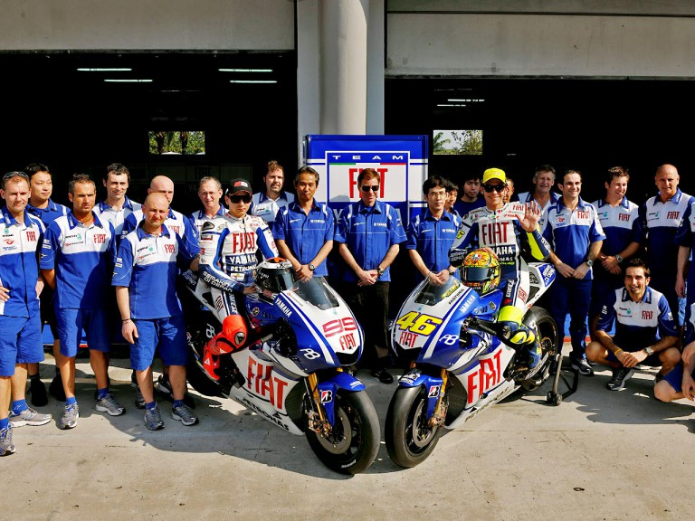 YZR-M1 2010 Unveils at Sepang