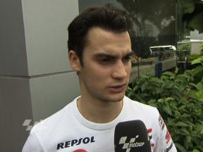 Opening day impression from Pedrosa