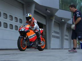 Sepang Test - Day 1 Highlights
