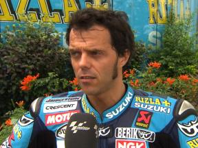 Productive couple of days for Capirossi