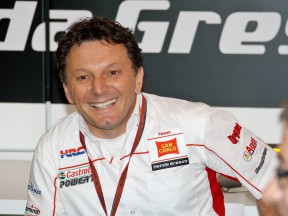 San Carlo Honda Gresini Team Manager Fausto Gresini