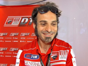 Ducati Team Manager Vittoriano Guareschi
