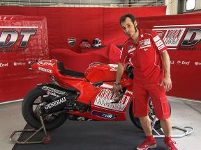 Ducati's Desmosedici GP10 explained by Vittoriano Guareschi