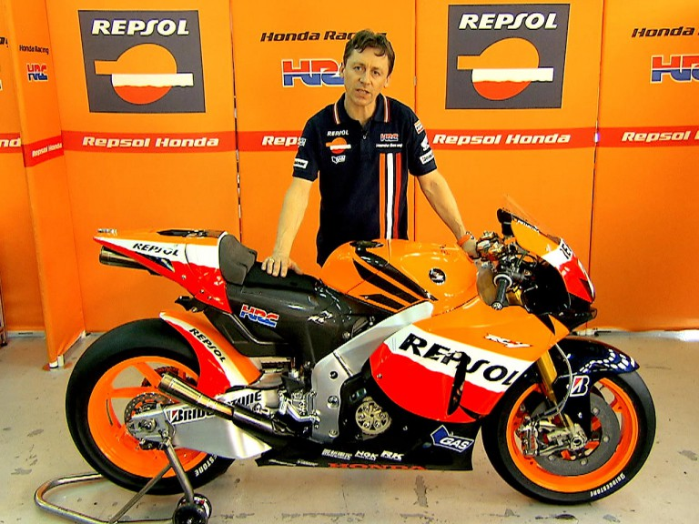 Chief mechanic Repsol Honda Mike Leitner
