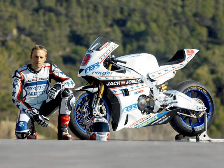 Moto2 World Championship rider Kenny Noyes