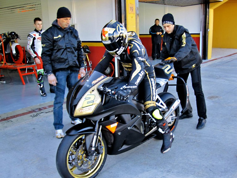 Gabor Talmacsi rides at Valencia
