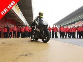 Montmeló Moto2/125 Test begins