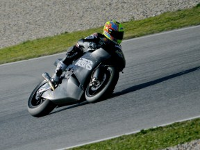 Roberto Rolfo at the Catalunya test