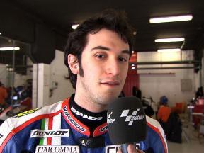 Baldolini pleased with Caretta Technology Moto2 progress