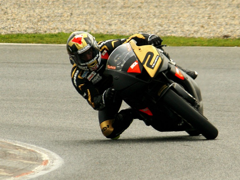 Gabor Talmacsi at the Catalunya test