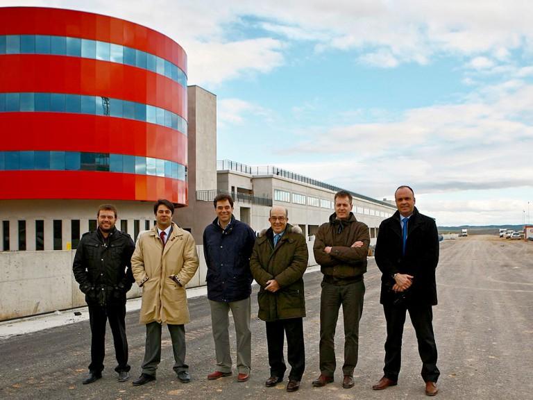 Dorna CEO Carmelo Ezpeleta visits Navarra Circuit