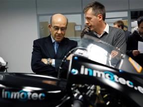 Dorna CEO Carmelo Ezpeleta visits Inmotec