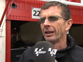 Scott Redding's crew chief Pete Benson on Moto2 project
