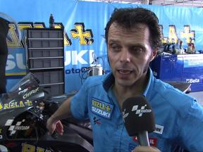 Capirossi positive at Suzuki developments