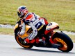 Andrea Dovizioso in action at the Sepang test