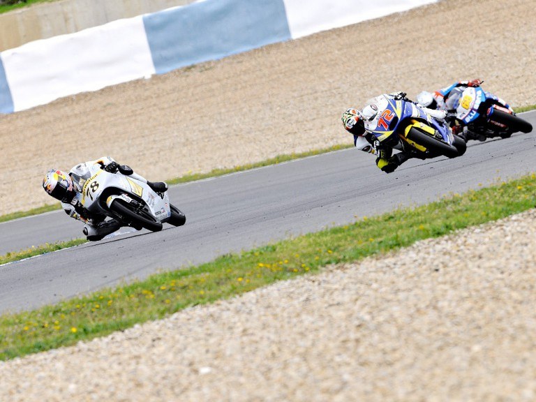 Moto2 Group at the Jerez test